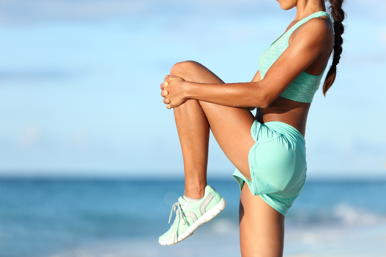 運動可以強化腿部肌肉,幫助輕微靜脈曲張改善